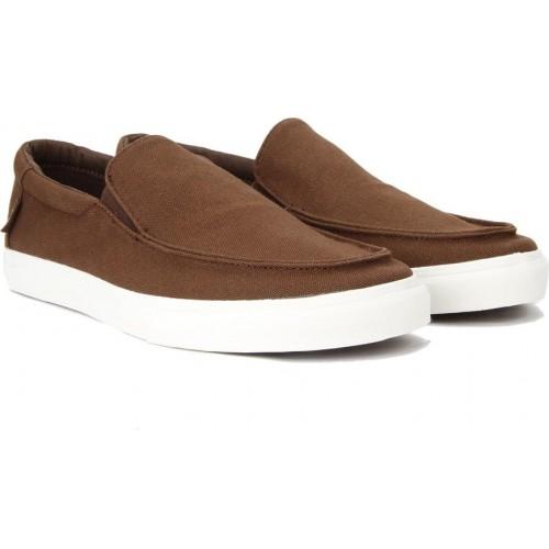 2567590046 Buy VANS BALI SF Brown Leather Loafers online
