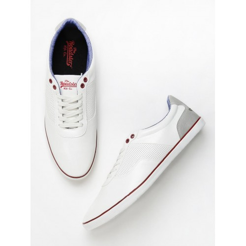Buy Roadster White Casual Shoes online