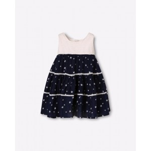 ISM exclusive for Ajio A-line Star Print Dress