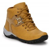 DLS Tan Leather Solid Boot
