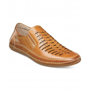 Stacy Adams Brown Men's Naples Driver Casual Shoes