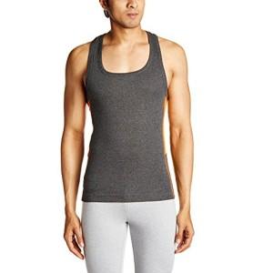 TUNA London Men's Gray Cotton Vest