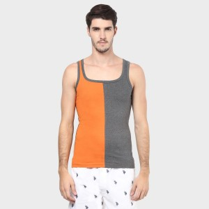CHROMOZOME Cut & Sew Pattern Casual Vest