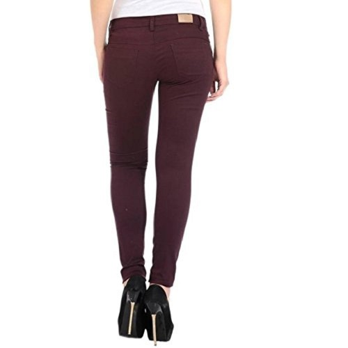 Adbucks Adbucks Silky Cotton Lycra Stretchable Womens Jeans (Combo of 2)