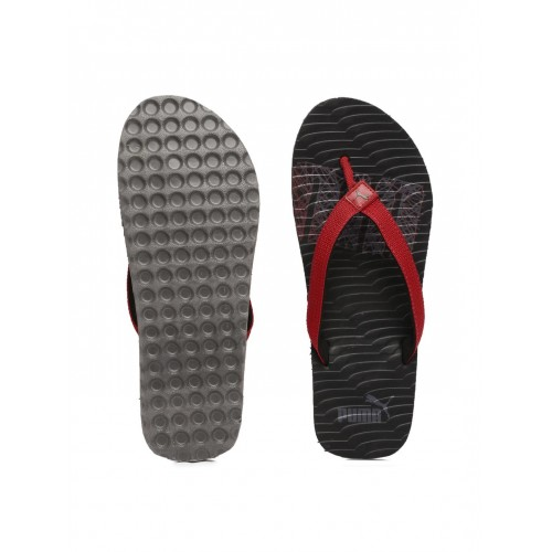 3dd4c11671ca Buy Puma Unisex Red   Black Miami Fashion Flip-Flops online ...