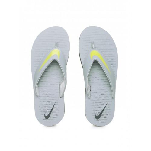 70ee37dbc109 Buy Nike Men Grey Chroma Thong 5 Flip-Flops online