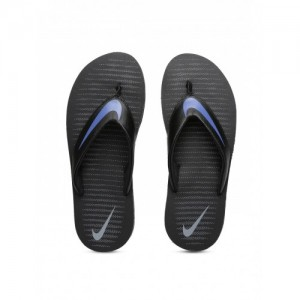 a0b7994ea Nike Men's Black Flip-Flops