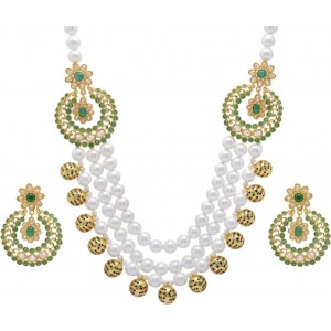 Hyderabad Jewels Copper Jewel Set