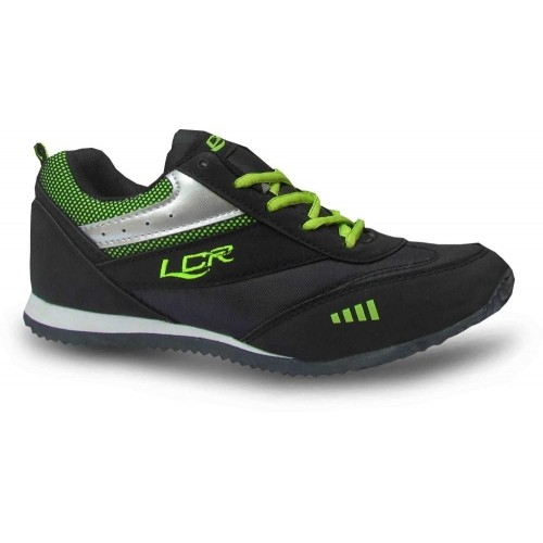 Lancer Black Walking Shoes For Men