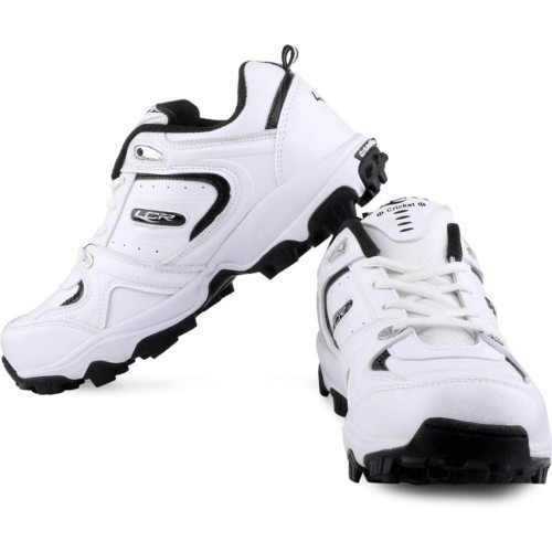 Lancer White Cricket Shoes
