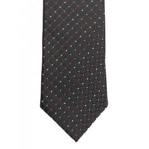 Lino Perros Black Patterned Tie