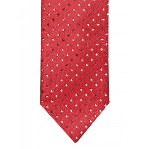 Lino Perros Red Patterned Tie