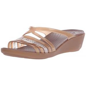 eff9179cdebb crocs Crocs Crocs Isabella Mini Wedge W Women Wedges  Shoes  202464-854-