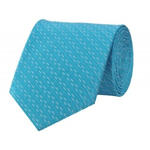 TieKart Tiekart Self Design Men'S Tie (Dm187_Blue)