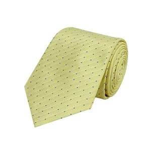 TieKart Tiekart Yellow Old Friend Men Tie