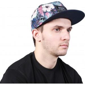 Noise Purple Floral Printed Cap Cap