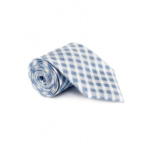 Savile Row blue color, microfiber neck- tie
