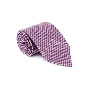 Savile Row purple color, microfiber neck- tie