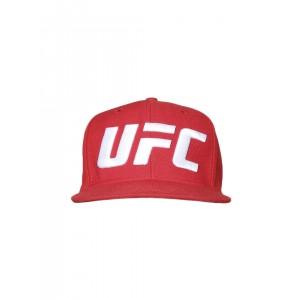 Reebok Men Red Oversized Logo/Ultimate Fight Cap