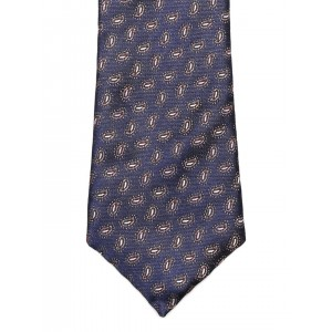 Peter England Statements Navy Paisley Patterned Tie