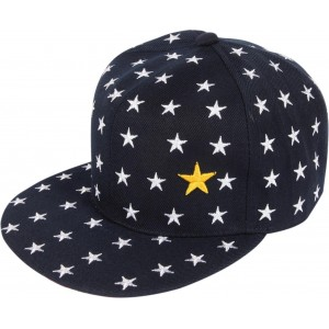 ILU Navy Blue Printed Cap