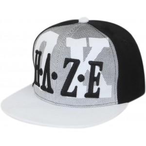 ilu Gray & Black Embroidered Skull Cap