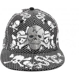 Tiekart Self Design Skull Cap