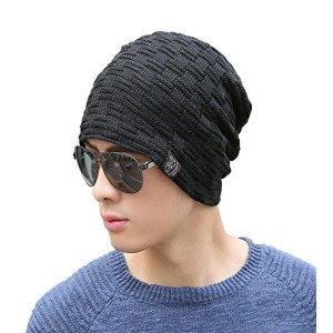 iSweven Black imported Fancy beautifully woolen Cap