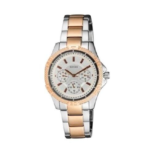 GUESS GUESS Mini Phantom Chronograph Silver Dial Women's Watch - W0235L4