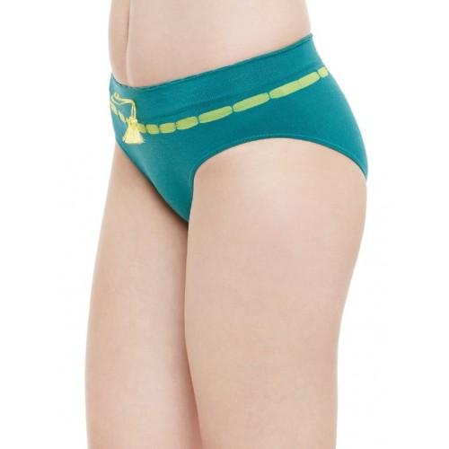 C9 green cotton panty