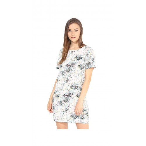 outlet store 79834 c6bfc Buy Vero Moda Women White Printed Dresses by Kapsons ...