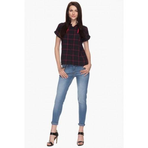 1ed763346d1fc Buy LIFE Womens Hooded Check Shirt online