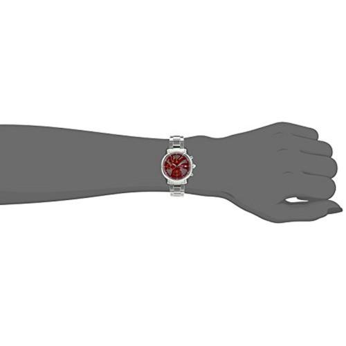Seiko Seiko Criteria Chronograph Red Dial Women's Watch - SNDY05P1