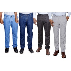 Toddy Regular Multicolor Jeans In Combo