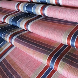 John Diego Pink Cotton Checked Shirt Fabric
