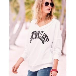 Next White Printed Sweatshirt