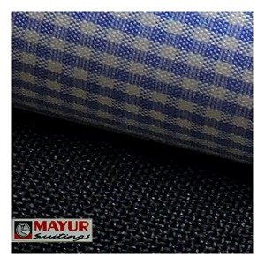 Mayur Suiting's Blue Cotton Shirt And Trouser Fabric
