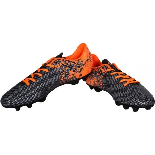 NIVIA PREMIER Black & Orange Football Shoes