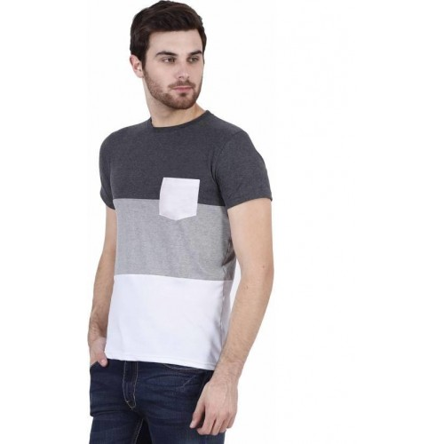 54adf9649f56 Buy Stylogue Multicolor Round Neck T-shirt Pack Of 2 online ...