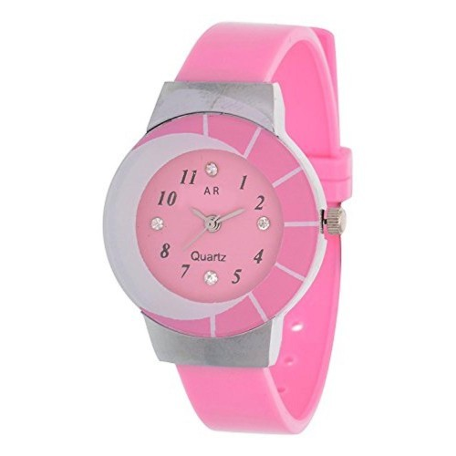 A R Sales A R Sales Analog Pink Dial Women's Watch - AR0024