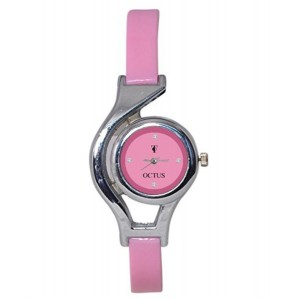 A R Sales Octus Pink Dial Analog Watch For Women