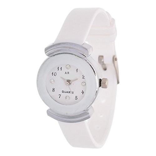 A R Sales A R Sales Analog White Dial Women's Watch - AR0025