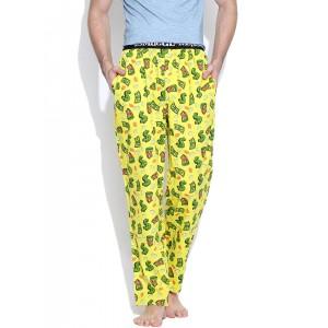 SMUGGLERZ INC. Yellow Dollar Print Lounge Pants