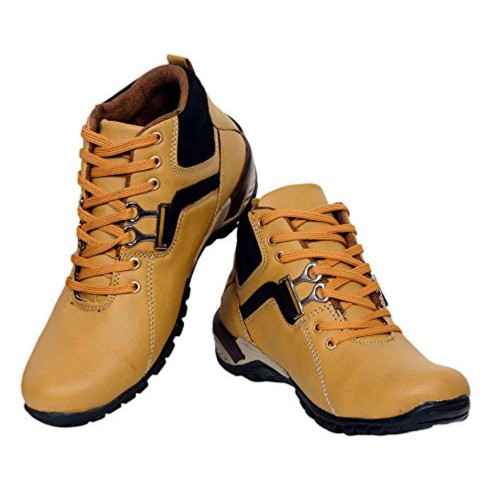T-Rock T-Rock Synthetic Leather Tan Casual Shoes