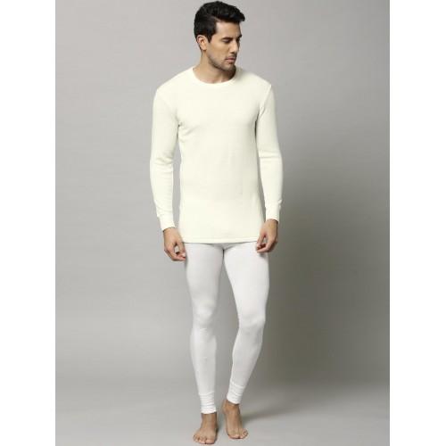 ea4d6dc35f57 Buy Marks & Spencer Men Off-White Thermal T-shirt 7304W online ...