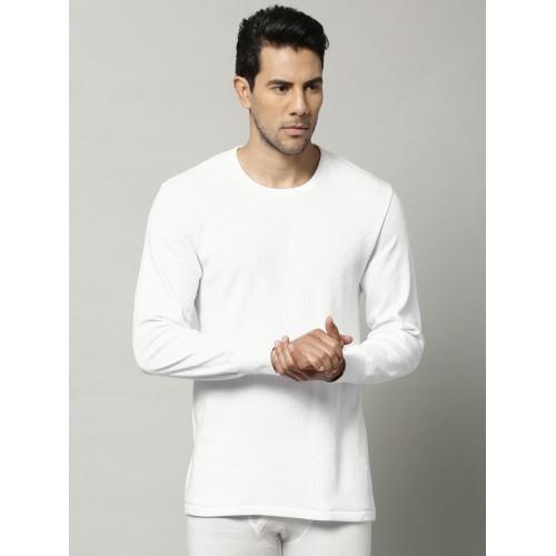 b2067af492fd ... Marks & Spencer Men White Cotton Rich Thermal T-shirt 8804N ...