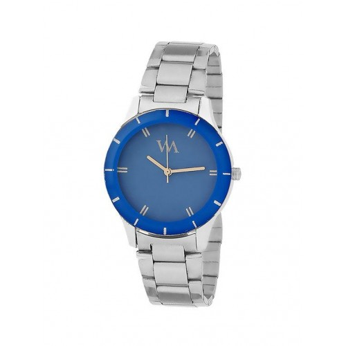 Watch Me WATCH ME Blue dial Silver Metal Watch for Women and Girls WMAL-147