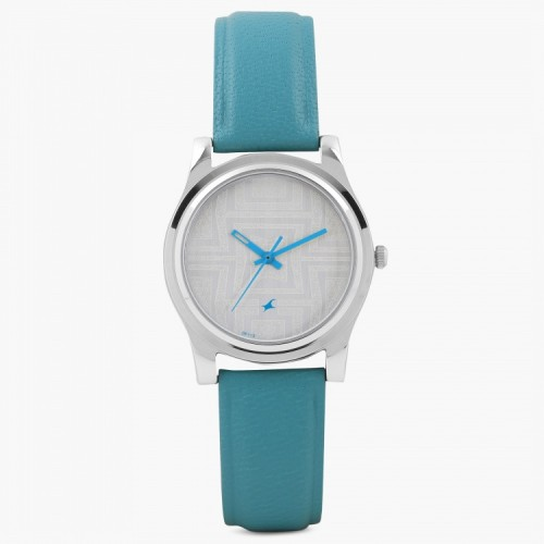 Fastrack Women White Dial Analog Watch- 6046SL04