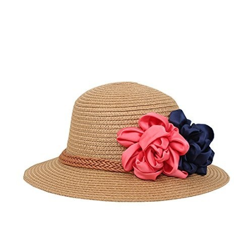 4d50733e23f Buy Modo Vivendi Navy Blue Summer Hat with Flower online