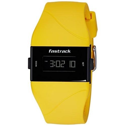 e010222f5 ... Fastrack Fastrack Women Silicon Digital Yellow watch - 68003PP02 ...